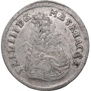Germany - Brandenburg-Prussia 3 groschen 1696