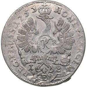 Germany - Brandenburg-Prussia Ort 1753 E