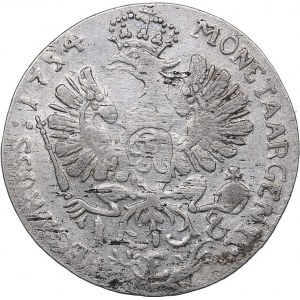 Germany - Brandenburg-Prussia Ort 1754