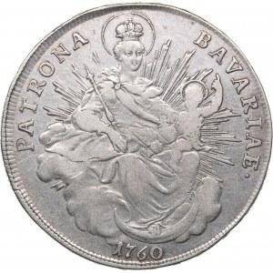 Germany - Bavaria Taler 1760