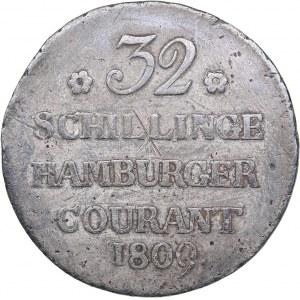 Germany - Hamburg 32 schilling 1809
