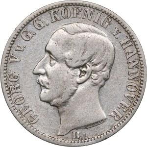 Germany - Hannover 1/6 taler 1863