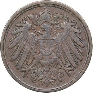 Germany 1 pfennig 1895 D
