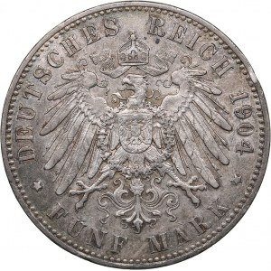 Germany - Prussia 5 mark 1904 A