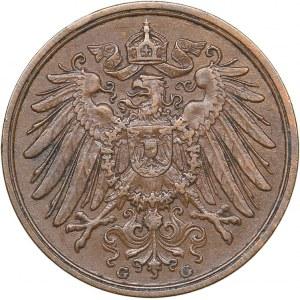 Germany 2 pfennig 1914 G