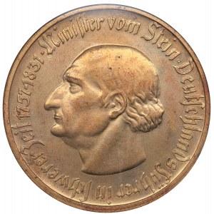 Germany - Weimar Republic Westphalia 10 000 mark 1923 - NGC MS 62