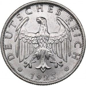 Germany - Weimar Republic 2 reichsmark 1925 A