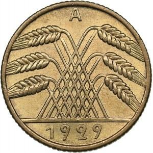 Germany - Weimar Republic 10 reichspfennig 1929 A