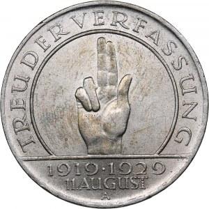 Germany - Weimar Republic 3 reichsmark 1929 A Paul von Hindenburg