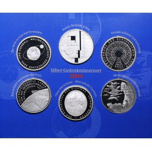 Germany coins set 2004