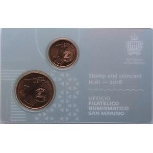 San Marino coins set 2018