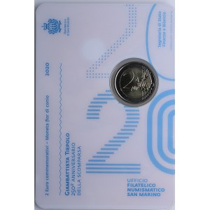 San Marino 2 euro 2020