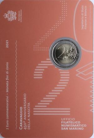 San Marino 2 euro 2021