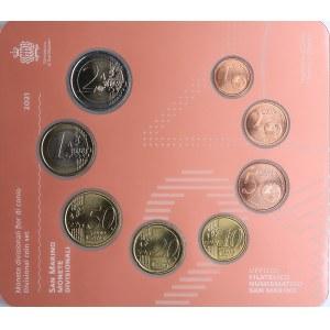 San Marino coins set 2021