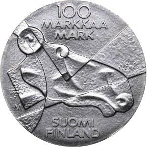 Finland 100 markkaa 1989