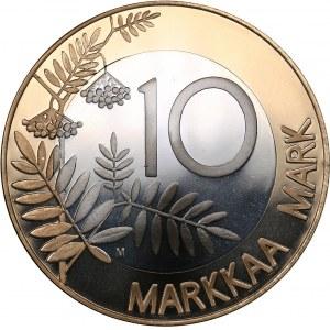 Finland 10 markkaa 1999