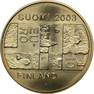 Finland 10 euro 2003