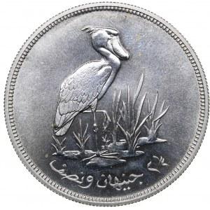 Sudan 2 1/2 pounds 1976 - Conservation