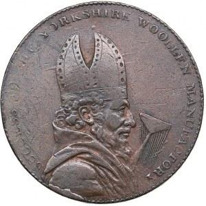 Great Britain - Yorkshire. Leeds Halfpenny Token 1793