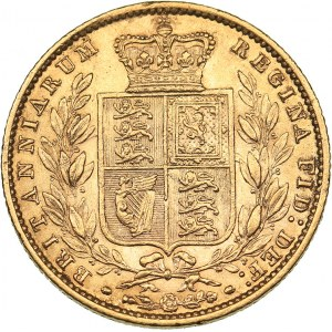 Great Britain Sovereign 1858