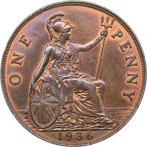 Great Britain penny 1936