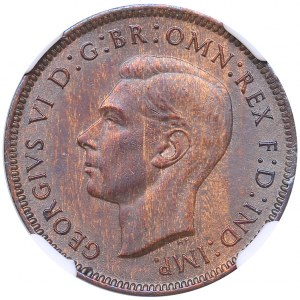 Great Britain 1/4 penny 1942 - NGC MS 63 BN