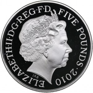 Great Britain 5 pounds 2010 Olympics