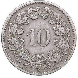 Switzerland 10 cent 1897 B