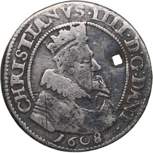 Denmark 8 skilling 1608