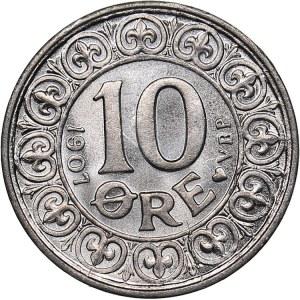 Denmark 10 ore 1907