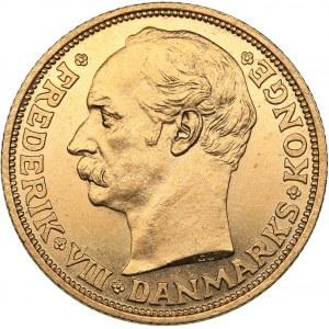 Denmark 20 kroner 1908