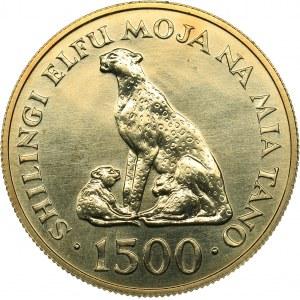 Tanzania 1500 shillingi 1974 - Conservation
