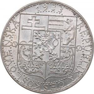 Czechoslovakia 20 korun 1933