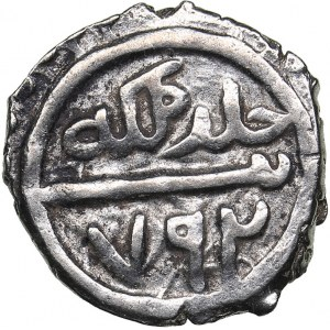 Turkey AR Akçe - Bayezid I (1389-1402)