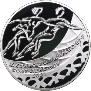 Ukraine 10 hryven 2001 - Olympics Salt Lake 2002
