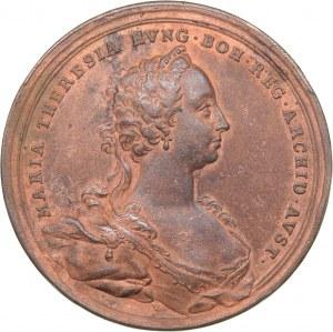 Hungary medal Coronation as King of Hungary at Pressburg, 1741 - Maria Theresa (1740-80)