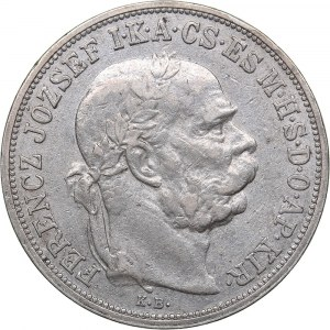 Hungary 1 corona 1907