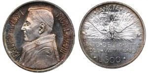 Vatican 1000 & 500 lire 1978 (2)
