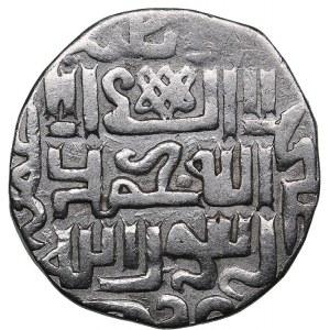 Islamic, Mongols: Jujids - Golden Horde - Saray AR dirham AH734 - Uzbek (1283-1341 AD)