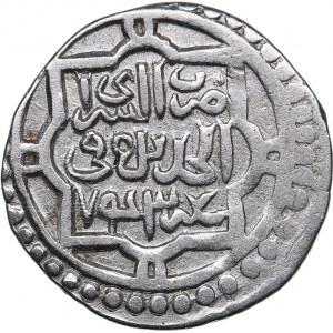 Islamic, Mongols: Jujids - Golden Horde - Saray al-Jadida AR dirham AH743 - Jani Beg (1341-1357 AD)