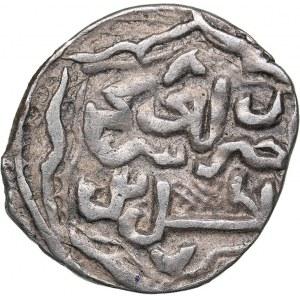 Islamic, Mongols: Jujids - Golden Horde - Saray al-Jadida AR dirham AH748 - Jani Beg (1341-1357 AD)