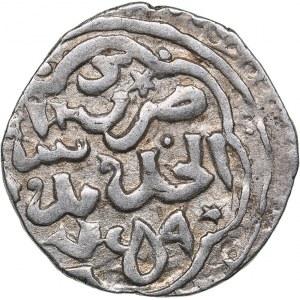 Islamic, Mongols: Jujids - Golden Horde - Saray al-Jadida AR dirham AH759 - Berdibek (1357-1359 AD)