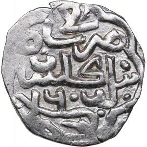 Islamic, Mongols: Jujids - Golden Horde - Gülistan AR dirham AH760 - Berdibek (1357-1359 AD)