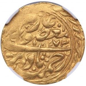 Islamic, Manghits of Bukhara - Russia AV Tilla - Nasrullah Khan (AH 1273//AH 1273 (1857/8)