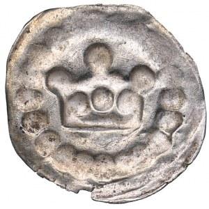Reval - Denmark pfennig (crown bracteate) Anonymous (1265-1332)