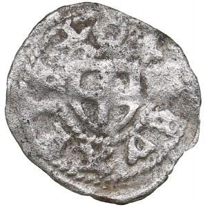 Reval pfennig ND - Bernd von der Borch (1471-1483)