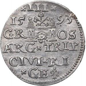 Riga 3 grosz 1593 - Sigismund III (1587-1632)