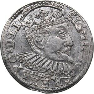 Riga - Poland 3 grosz 1598 - Sigismund III (1587-1632)