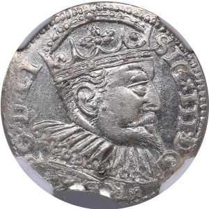Riga - Poland 3 grosz 1598 - Sigismund III (1587-1632) - NGC MS 63