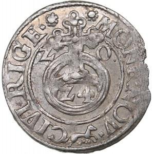 Riga - Poland 1/24 taler 1620 - Sigismund III (1587-1632)